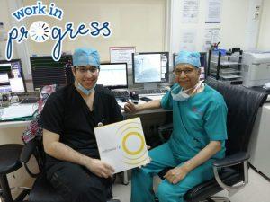 First Case Shockwave IVL in Al Zahra Hospital Medical Equipment Shop in Dubai