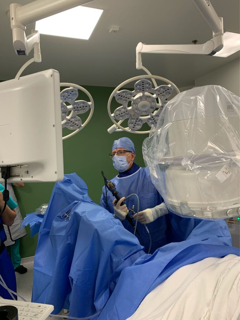 First Ureteral Lithotripsy and Retrograde Intrarenal Surgery